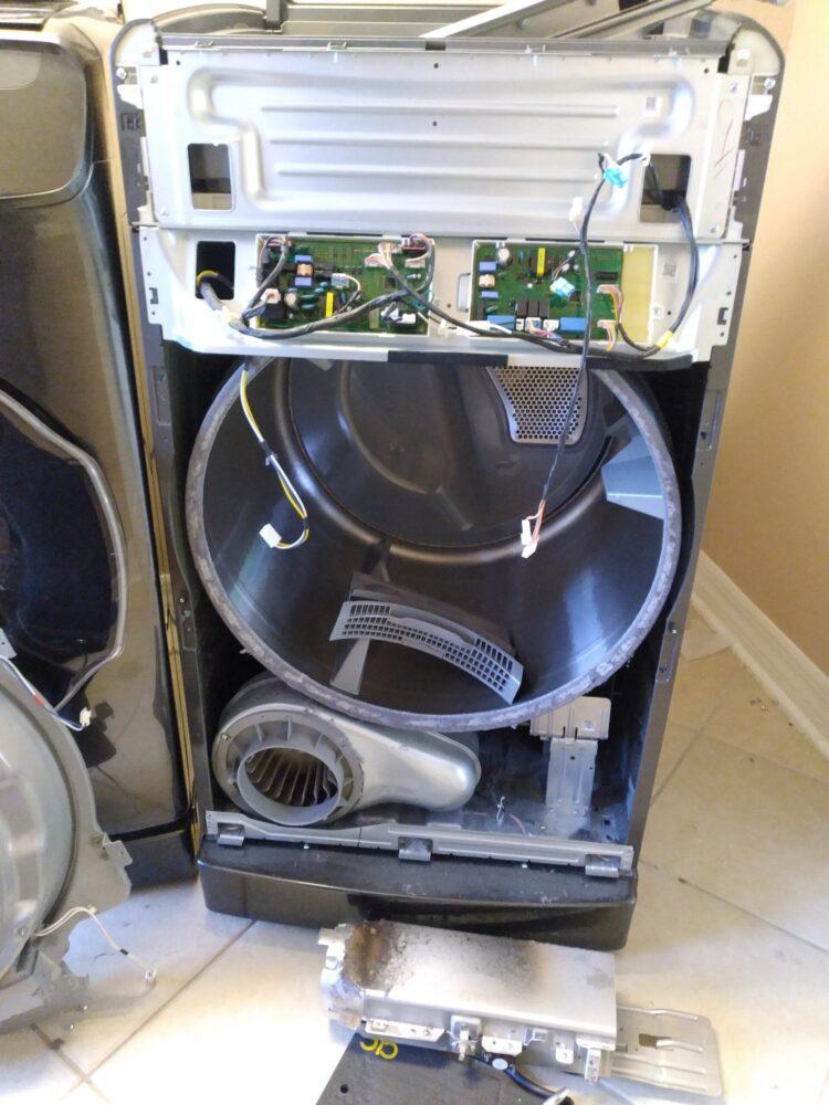 appliance repair dryer repair not heating  biscayne drive winter park 32789