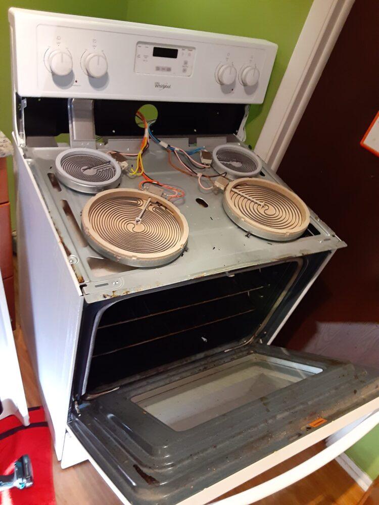 appliance repair stove repair bad heating element chestnut avenue winter park 32789