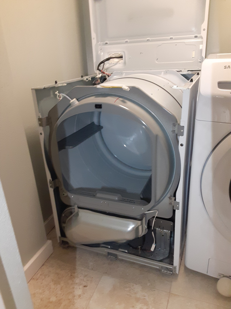 appliance repair dryer repair replaced damaged heating element assembly lady susan court casselberry fl 32707