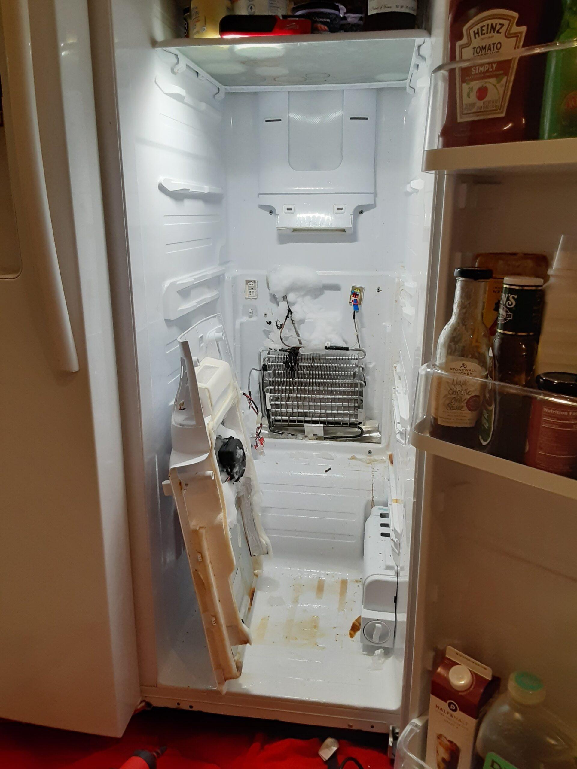appliance repair refrigerator repair bad evaporator lake mary fl