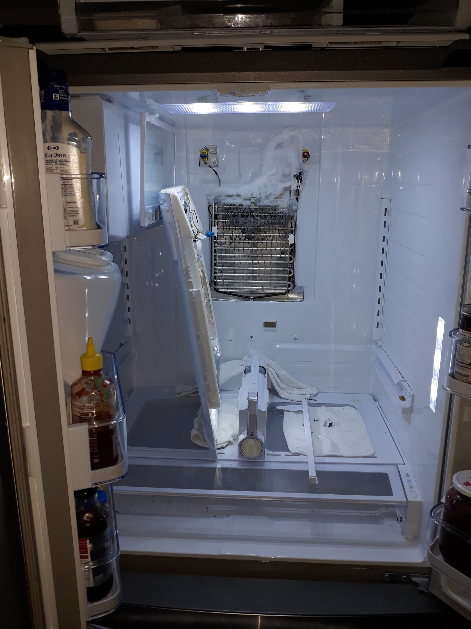 appliance repair refrigerator repair not cooling ice build up lake mary fl