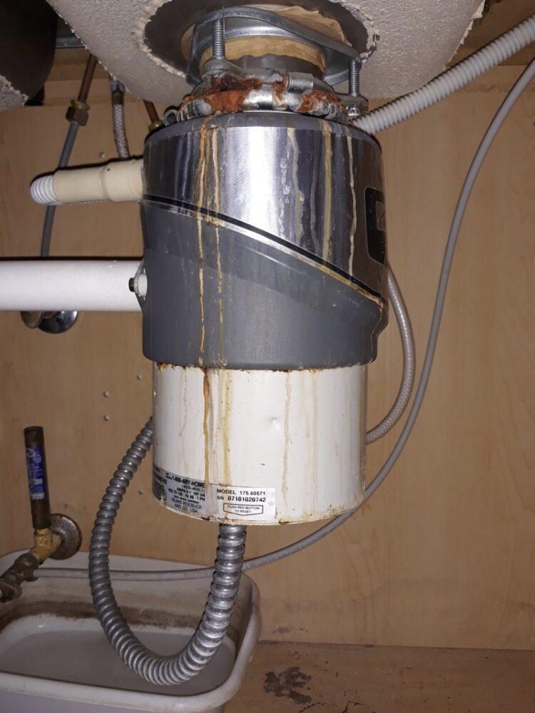 appliance repair garbage disposal replacement bad motor kersfield circle heathrow fl 32746