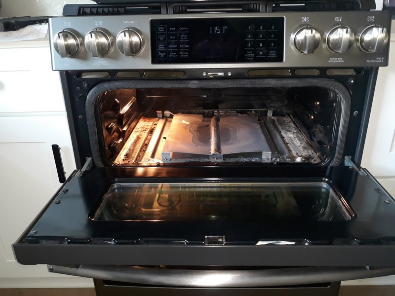 appliance repair oven repair needs new igniter and orifice cleaning spartan drive fern park fl 32751