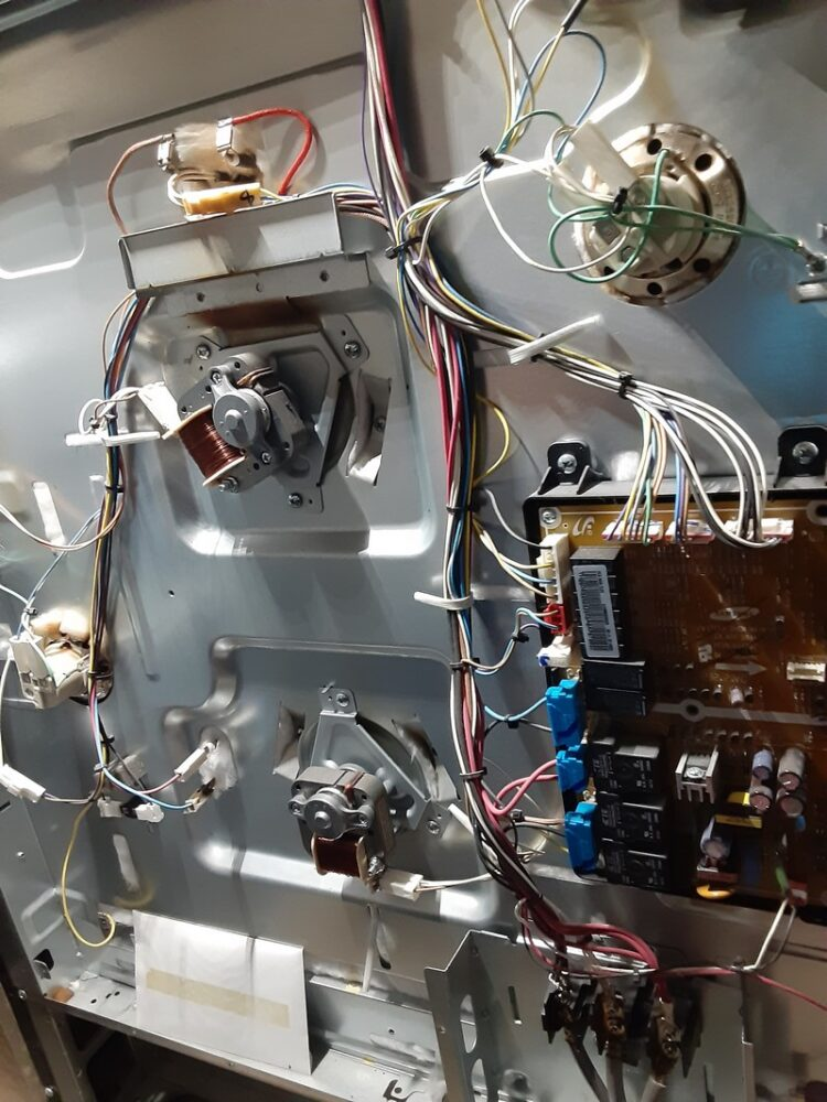 appliance repair oven repair replaced conventional fan motor anzle ave winter park fl 32789